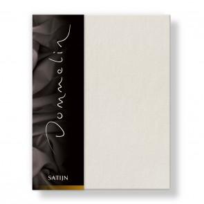 Dommelin Hoeslaken Deluxe Satijn Beige 200 x 220 cm