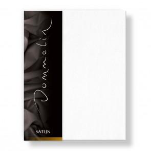 Dommelin Hoeslaken Deluxe Satijn Wit 180 x 220 cm