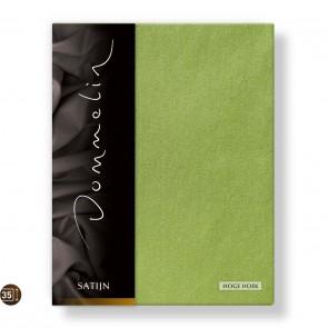 Dommelin Hoeslaken Hoge Hoek Deluxe Satijn Groen