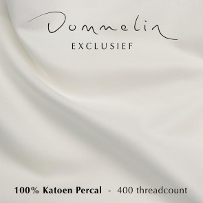 Dommelin Hoeslaken Extra Hoge Hoek Percal 400TC Ecru 120 x 200 cm