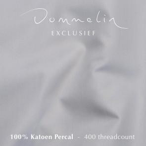 Dommelin Hoeslaken Extra Hoge Hoek Percal 400TC Lichtgrijs 105 x 210 cm