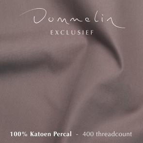 Dommelin Hoeslaken Extra Hoge Hoek Percal 400TC Taupe 105 x 210 cm