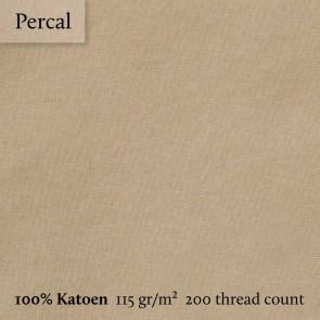 Dommelin Split Topper Hoeslaken 5-9 cm Percal 200TC Cafe