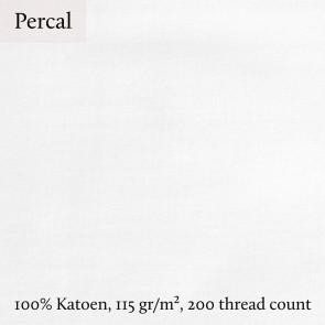 Dommelin Topper Hoeslaken 5-9 cm Percal 200TC Olijfgroen
