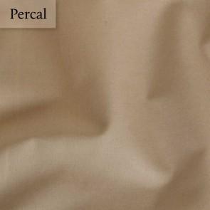 Dommelin Split Topper Hoeslaken 10-14 cm Percal 200TC Cafe