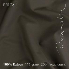 Dommelin Hoeslaken Percal 200TC Leem 100 x 200 cm