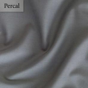 Dommelin Kussensloop Percal 200TC Leisteengrijs 80 x 80 cm