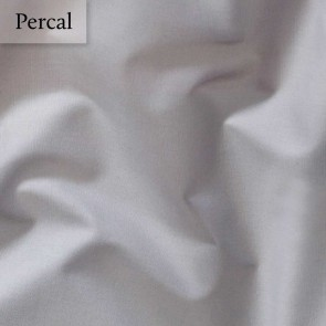 Dommelin Split Topper Hoeslaken 10-14 cm Percal 200TC Muisgrijs