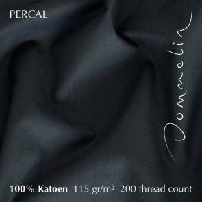 Dommelin Laken Deluxe Percal Zwart