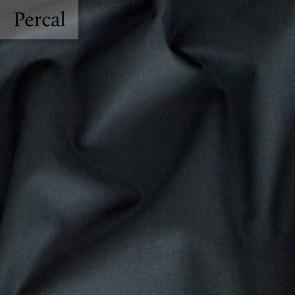 Dommelin Split Topper Hoeslaken 10-14 cm Percal 200TC Zwart