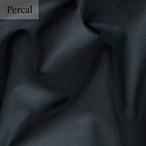Dommelin Dubbel Split Hoeslaken Percal 200TC Zwart
