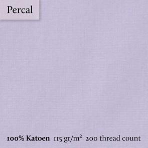 Dommelin Topper Hoeslaken 10-14 cm Percal 200TC Lila 100 x 200 cm