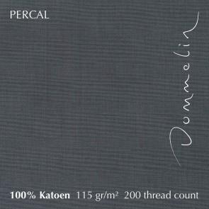 Dommelin Dubbel Split Hoeslaken Deluxe Percal Olifantgrijs