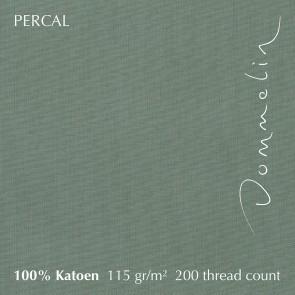 Dommelin Dubbel Split Hoeslaken Deluxe Percal Spargroen