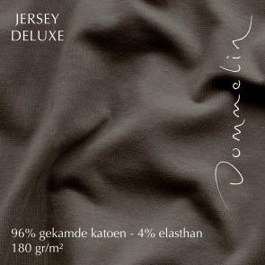 Dommelin Hoeslaken Jersey Deluxe Bruin