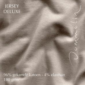 Dommelin Hoeslaken Jersey Deluxe Linnen