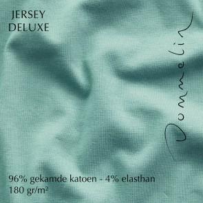 Dommelin Hoeslaken Jersey Deluxe Mintgroen