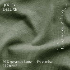 Dommelin Hoeslaken Jersey Deluxe Riet