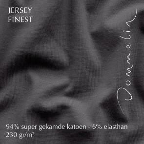 Dommelin Hoeslaken Jersey Finest Antraciet
