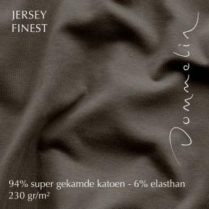 Dommelin Hoeslaken Jersey Finest Bruin