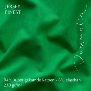 Dommelin Hoeslaken Jersey Finest Smaragd