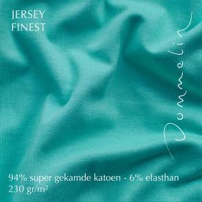 Dommelin Hoeslaken Jersey Finest Turquoise