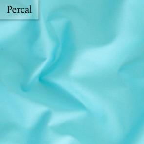 Dommelin Dubbel Split Hoeslaken Percal 200TC Aquamarijn