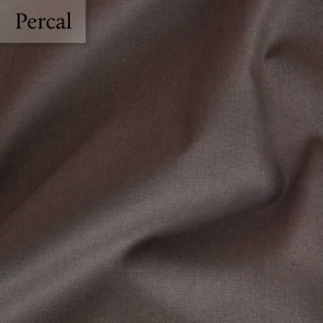 Dommelin Dubbel Split Hoeslaken Deluxe Percal Bruin