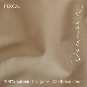 Dommelin Laken Percal 200TC Café