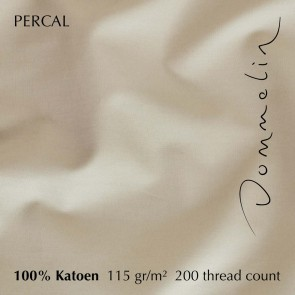 Dommelin Laken Percal 200TC Camel