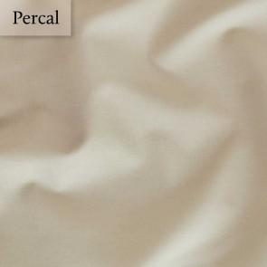 Dommelin Dubbel Split Hoeslaken Deluxe Percal Camel