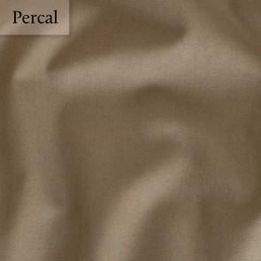 Dommelin Dubbel Split Hoeslaken Deluxe Percal Cappucino