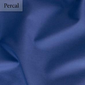 Dommelin Dubbel Split Hoeslaken Deluxe Percal Jeansblauw