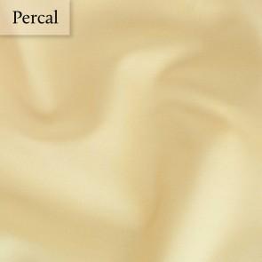 Dommelin Dubbel Split Hoeslaken Deluxe Percal Lichtgeel