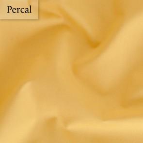Dommelin Dubbel Split Hoeslaken Deluxe Percal Okergeel