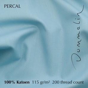 Dommelin Dekbedovertrek Percal 200TC Pastelblauw eenpersoons