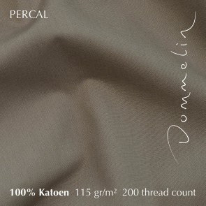 Dommelin Laken Percal 200TC Taupe