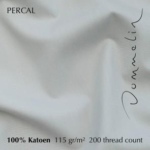 Dommelin Dekbedovertrek Percal 200TC Zilver lits-jumeaux