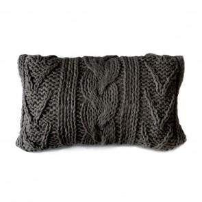 Dommelin Sierkussen Knitted Antraciet