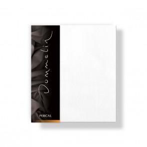 Dommelin Kussensloop Deluxe Percal Wit 80 x 80 cm