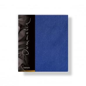 Dommelin Kussensloop Deluxe Satijn Jeansblauw 40 x 60 cm