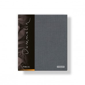 Dommelin Kussensloop 3 Volant Deluxe Percal Olifantgrijs