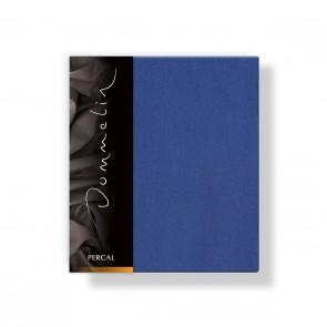 Dommelin Kussensloop Deluxe Percal Jeansblauw 60 x 80 cm