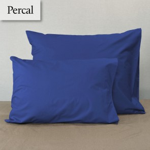 Dommelin Kussensloop Percal 200TC Jeansblauw 60 x 80 cm