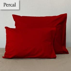 Dommelin Kussensloop Deluxe Percal Terracotta
