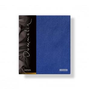 Dommelin Kussensloop Satijn 3 Volant Jeansblauw