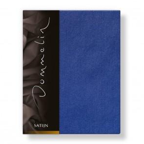 Dommelin Laken Deluxe Satijn Jeansblauw