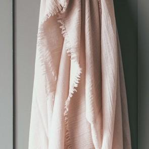 Alexandre Turpault Plaid Loulou Pink Dew 130 x 180 cm