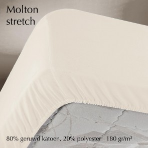 Dommelin Stretch Molton Hoeslaken