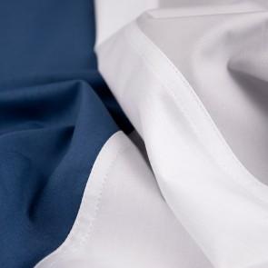 Dommelin Dekbedovertrek Padua Zilver Wit Nachtblauw